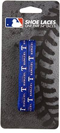 Texas Rangers Shoe Laces 54 Inch - Special Order