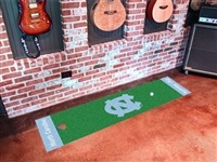"North Carolina Tar Heels Putting Green Runner Mat 18""x72"""