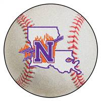 "Northwestern Baseball Mat 27"" diameter"