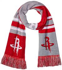 Houston Rockets Scarf Colorblock Big Logo Design - Special Order