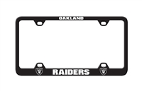 Oakland Raiders Laser License Plate Frame
