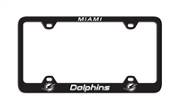 Miami Dolphins Laser License Plate Frame