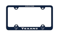 Houston Texans Laser License Plate Frame
