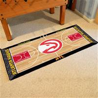 Atlanta Hawks NBA Large Court Runner Mat 29.5x54