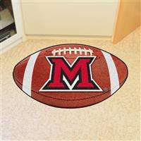 "Miami University (OH) Football Mat 20.5""x32.5"""