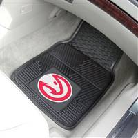 "Atlanta Hawks Heavy Duty 2-Piece Vinyl Car Mats 18""x27"""