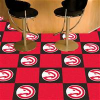 "Atlanta Hawks Carpet Tiles 18""x18"" Tiles, Covers 45 Sq. Ft."