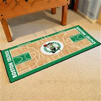 Boston Celtics NBA Large Court Runner Mat 29.5x54