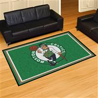 "Boston Celtics 5x8 Area Rug 60""x92"""
