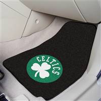 "Boston Celtics 2-Piece Carpeted Car Mats 18""x27"""