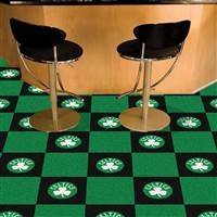 "Boston Celtics Carpet Tiles 18""x18"" Tiles, Covers 45 Sq. Ft."