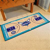 Charlotte Bobcats NBA Large Court Runner Mat 29.5x54
