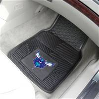 "NBA - Charlotte Hornets 2-pc Vinyl Car Mat Set 17""x27"""