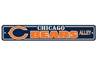 Chicago Bears Plastic Street Sign