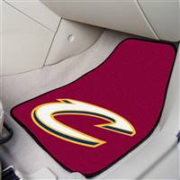 "Cleveland Cavaliers 2-Piece Carpeted Car Mats 18""x27"""