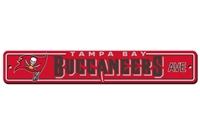 Tampa Bay Buccaneers Plastic Street Sign