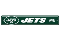 New York Jets Plastic Street Sign