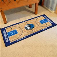 Dallas Mavericks NBA Large Court Runner Mat 29.5x54