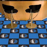 "NBA - Dallas Mavericks Team Carpet Tiles 18""x18"" tiles"