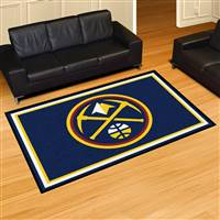 "Denver Nuggets 5x8 Area Rug 60""x92"""