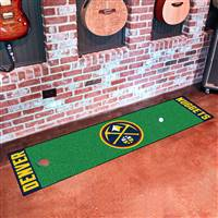 "NBA - Denver Nuggets Putting Green Mat 18""x72"""