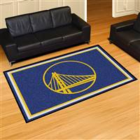 "NBA - Golden State Warriors 5x8 Rug 59.5""x88"""