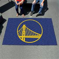 "Golden State Warriors Ulti-Mat Tailgating Mat 60""x96"""