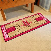 Houston Rockets NBA Large Court Runner Mat 29.5x54