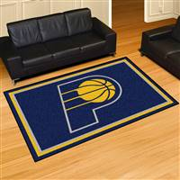 "Indiana Pacers 5x8 Area Rug 60""x92"""