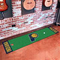 "Indiana Pacers Putting Green Runner Mat 18""x72"""