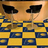 "Indiana Pacers Carpet Tiles 18""x18"" Tiles, Covers 45 Sq. Ft."