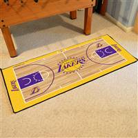 Los Angeles Lakers NBA Large Court Runner Mat 29.5x54