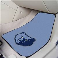"Memphis Grizzlies 2-Piece Carpeted Car Mats 18""x27"""