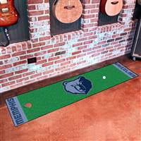 "Memphis Grizzlies Putting Green Runner Mat 18""x72"""
