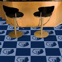 "Memphis Grizzlies Carpet Tiles 18""x18"" Tiles, Covers 45 Sq. Ft."