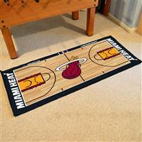 Miami Heat NBA Large Court Runner Mat 29.5x54