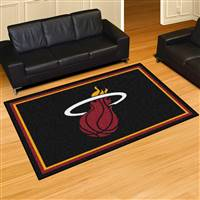 "NBA - Miami Heat 5x8 Rug 59.5""x88"""