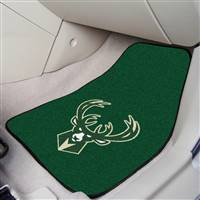 "Milwaukee Bucks 2-Piece Carpeted Car Mats 18""x27"""