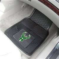 "Milwaukee Bucks Heavy Duty 2-Piece Vinyl Car Mats 18""x27"""