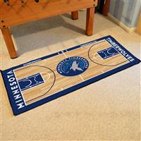 Minnesota Timberwolves NBA Court Large Runner Mat 29.5 x 54