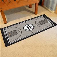 Booklyn Nets NBA Large Court Runner Mat 29.5x54