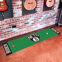 "Brooklyn Nets Putting Green Runner Mat 18""x72"""
