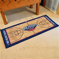 New Orleans Hornets NBA Large Court Runner Mat 29.5x54