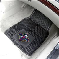 "New Orleans Hornets Heavy Duty 2-Piece Vinyl Car Mats 18""x27"""