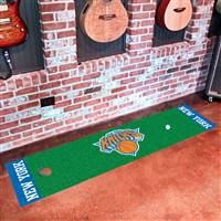 "New York Knicks Putting Green Runner Mat 18""x72"""