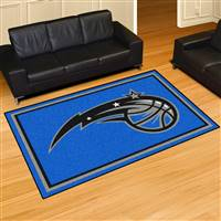 "Orlando Magic 5x8 Area Rug 60""x92"""