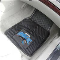"Orlando Magic Heavy Duty 2-Piece Vinyl Car Mats 18""x27"""
