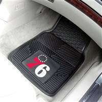 "Philadelphia 76ers Heavy Duty 2-Piece Vinyl Car Mats 18""x27"""