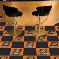 "Phoenix Suns Carpet Tiles 18""x18"" Tiles, Covers 45 Sq. Ft."