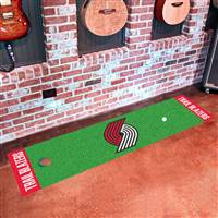 "Portland Trail Blazers Putting Green Runner Mat 18""x72"""